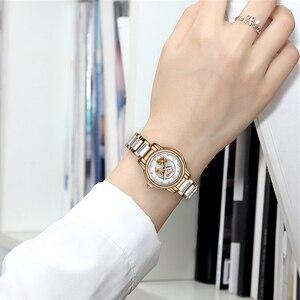 Image 4 - SUNKTA Rhinestone Rose Gold Top Brand Luxury Watches Women Sport Waterproof Watch Fashion Casual Clock Women Watch Zegarek Damsk