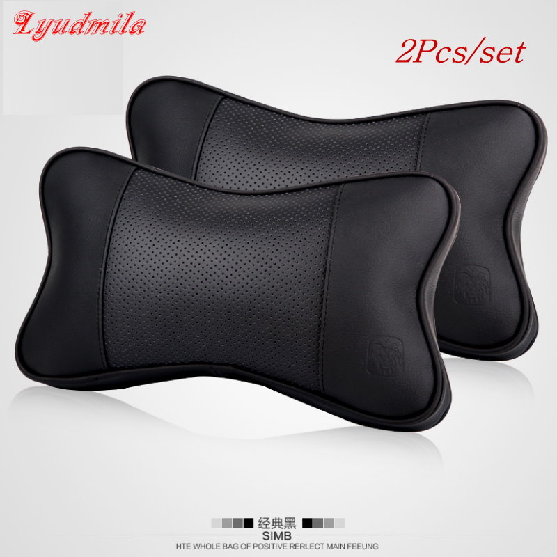For mercedes benz a pair of car seat covers head neck for Mercedes benz car seat cushion
