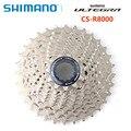 SHIMANO Ultegra CS R8000 дорожный велосипед свободного хода 11 скоростей 11-28T 11-30T 11-32T R8000 кассета Звездочка Shimano подлинные товары