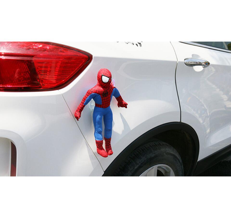 Человек-паук Герой Назад Homecoming Человек-паук версии ПВХ Рисунок украшение автомобиля Модель игрушки куклы Brinquedos Рождественский подарок