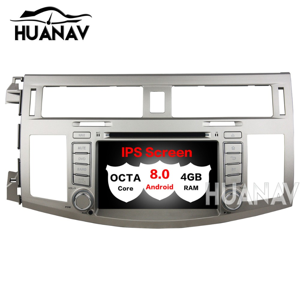 Car DVD Multimedia player GPS Navigation For Toyota Avalon 2008 2010 Auto radio dvd player 2 din Android 8.0 PX5 8 Core