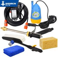 High Pressure Car Wash 12V Car Washe Car washer With Pressure Switch Cigar Lighter Powered Factory Direct