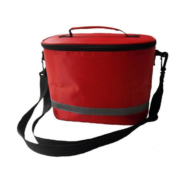 First Aid Kit  Emergency Kits Yellow Color Big Size Barrel Bag Single Shoulder Strap Earthquake Emergency Preparedness Kit