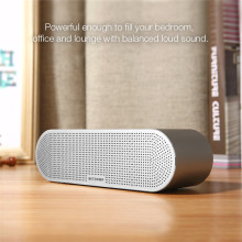 Wireless Bluetooth Stereo Speaker with Dual Drivers