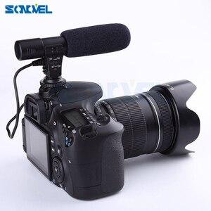Image 3 - Mic 01 Professionnel Fusil Condenseur Microphone Caméra pour Canon EOS M2 M3 M5 M6 800D 760D 750D 77D 80D 5Ds R 7D 6D 5D Mark IV