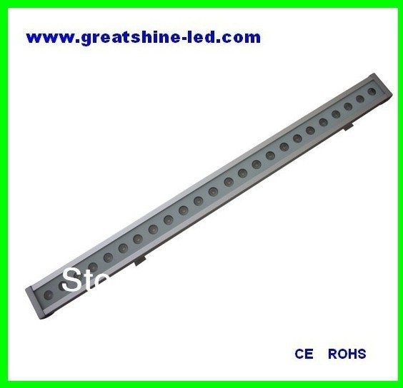 1000mm IP65 24x3W built-in dmx decoder RGB led wall washer used for sports centre and stadiums free shipping to north america rgb 3in1 super thin led wall washer 24x3w dc 24v 4wires 10pcs lot used for commercial decoration
