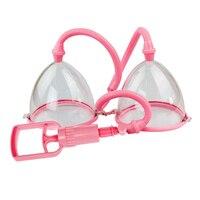 Vacuum Pumps Breast Enhancer Vagina Nipple Sucker Breast Enlargement Pump Breast Stimulator Adult Sex Toys For Woman