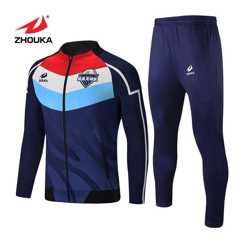 Custom Jogging Running Team Shirt Wholesale Sublimated Training Uniforms Jackets For Men Slim Fit Sports Tracksuit недорго, оригинальная цена