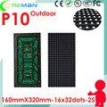 Фондовый светодиодный модуль p10 открытый smd rgb 16x32 1/2 сканирования, шаг пикселя 10 мм 8 мм 6 мм 5 мм светодиодная матрица видео светодиодные табло wi-fi управления USB