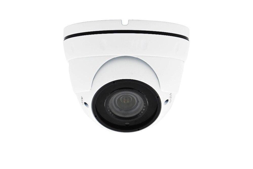 цена Security CCTV 2.8-12MM LENS 5MP Varifocal Lens IR Dome IP Camera POE