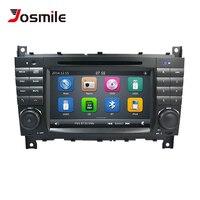 2 Din Car DVD Player For Mercedes BenzC Classs CLC W203 CLK W209 2004 2007 C200 C230 C220 C320 Radio Multimedia GPS Naviagtion