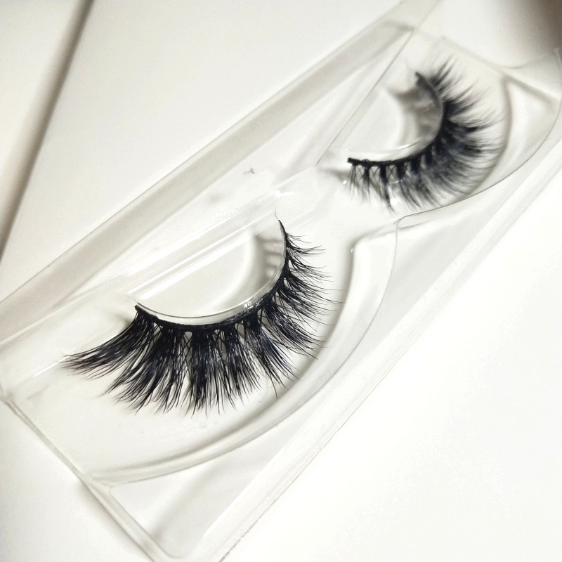 Luxury 3D Mink Lashes with Custom Eyelash Packaging Box Mix