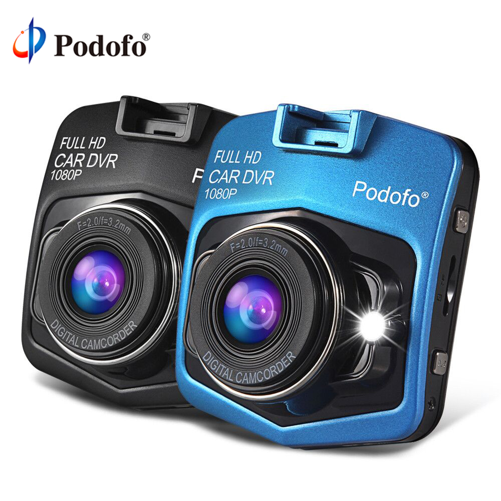Podofo A1 Mini Car DVRs Camera Full HD 1080P Dash Cam Recorder Video Registrar Night Vision Blackbox Carcam Dash Camera Dashcam carcam u5 hd