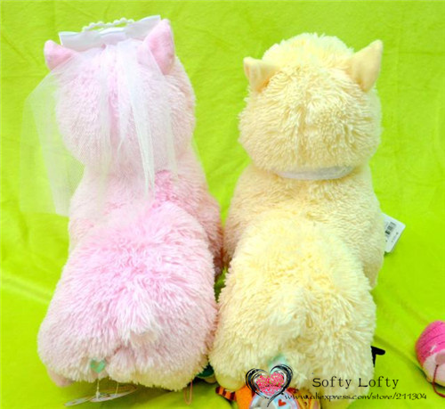 Bridal Alpacasso Small Size - Pink and yellow 2