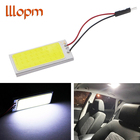 Car led Super Bright White 8W COB 36 Chip LED Car Interior Light 12V Car LED Panel light Car Interior lights Parking fog lights