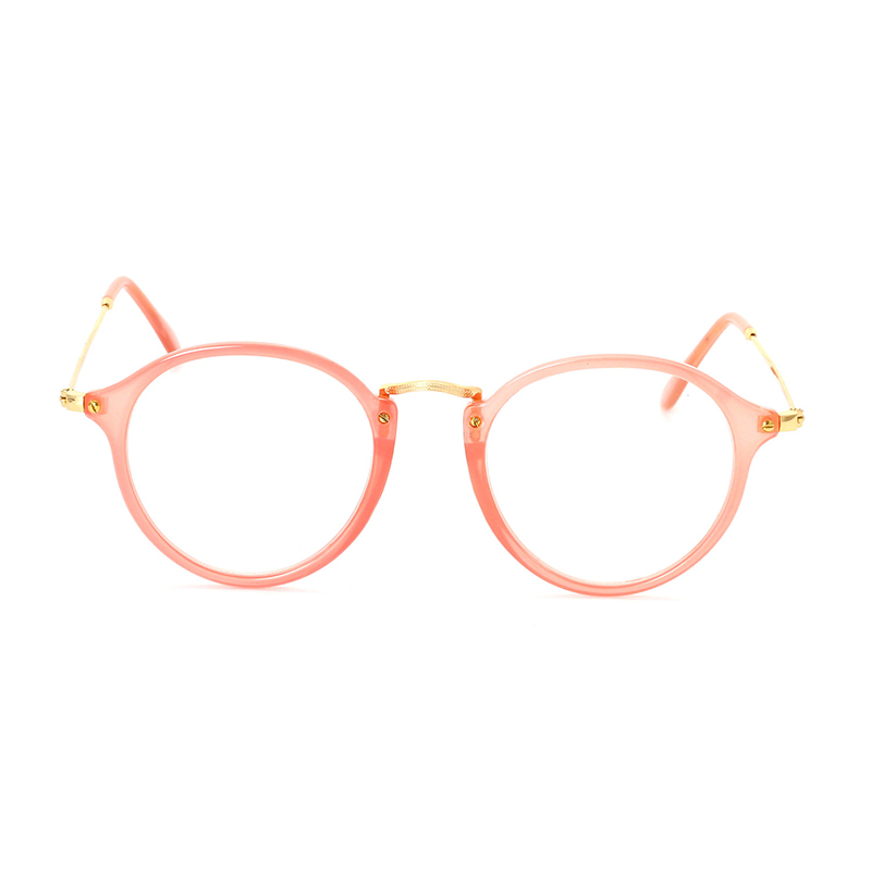 4e3a0ac379 Super Clear Transparent Crystal Frame Clear Lens glasses Retro Pantos  Glasses pink frame sunglasses black frame glasses-in Eyewear Frames from  Apparel ...