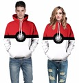 2017 Cute Pikachu Jacket Couples Autumn Pokemon Hoodies Women Men Sweatshirts Lover Couple Hoody Jacket For Valentine's Day Gift