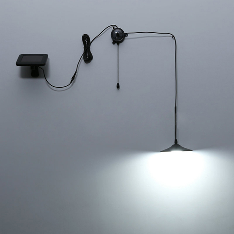 remoto pendurado lampada solar poupanca energia