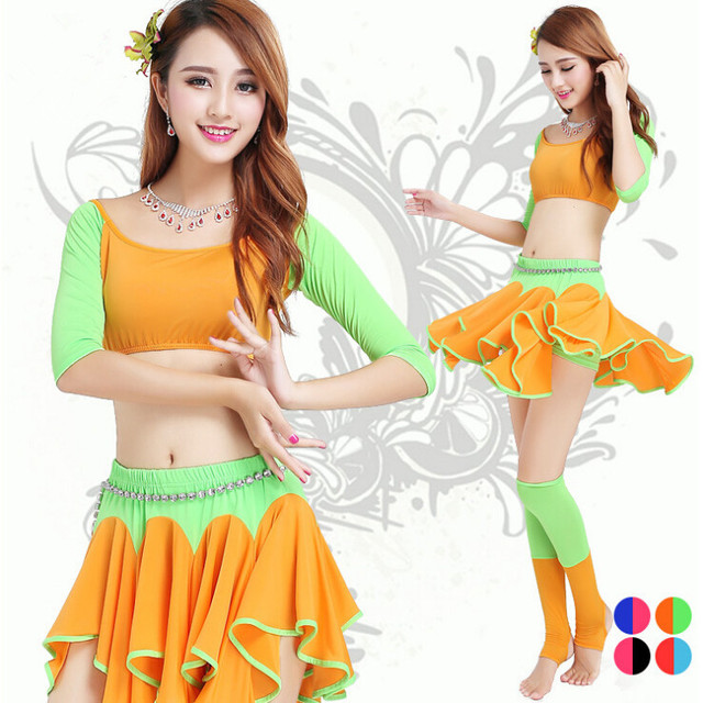 ae5ec644bae2 New style belly dance set women indian dance clothes bellydance ...