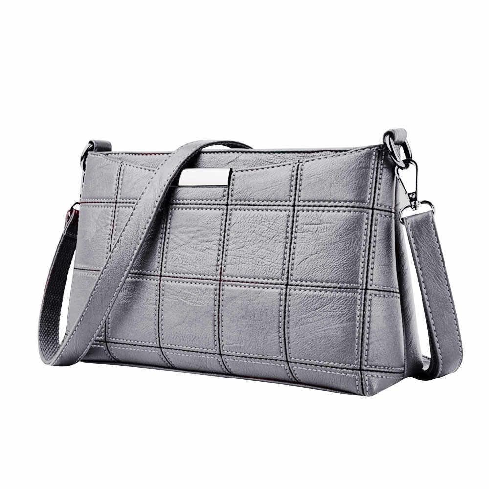 Sacos Para As Mulheres 2019 Bolsas De Luxo Mulheres Sacos de Designer de Mulheres Bolsa de Couro Xadrez saco Do Mensageiro Do Ombro сумка женская