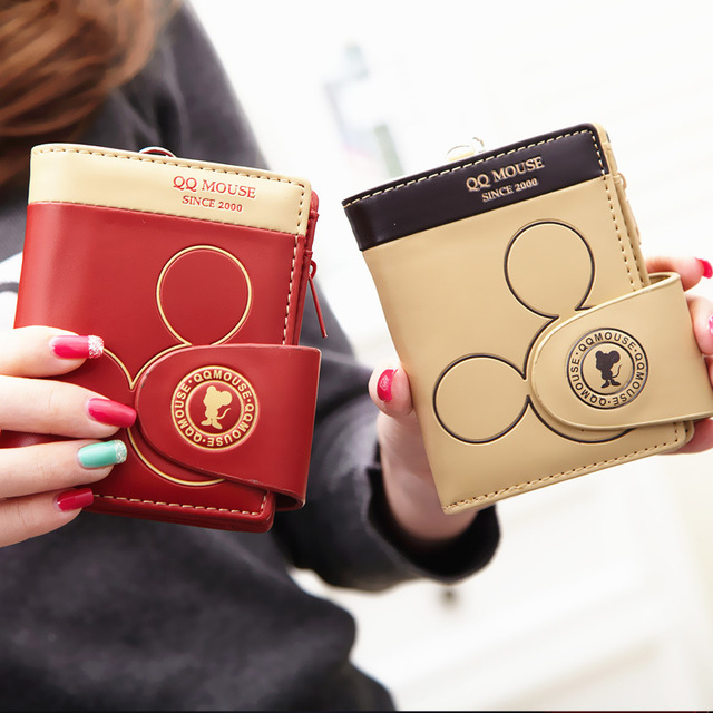 Women's Wallet With Coin Pocket (Mouse)