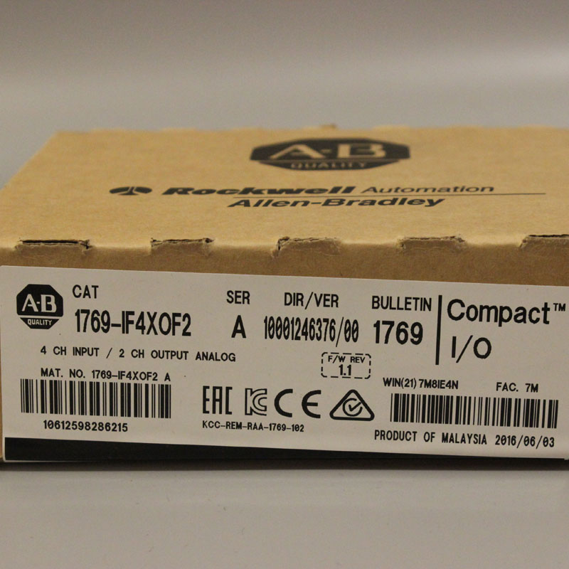 1769 IF4XOF2 1769IF4XOF2 PLC Controller New Have in stock