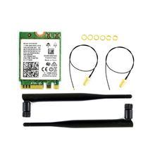 AC8265 Wireless NIC, 2.4G / 5G WiFi, Bluetooth 4.2, Applicable For Jetson Nano 4GB B01