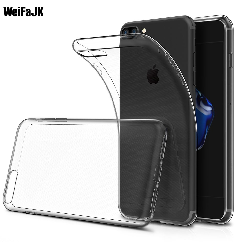 WeiFaJK Clear Phone Case for iPhone 5s 5 SE Cases