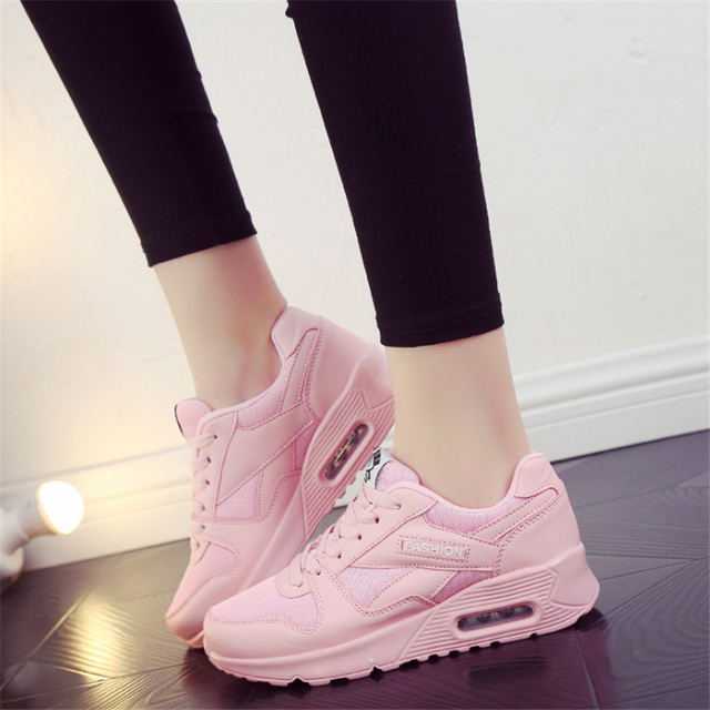 New 2018 Hot Sale Sport shoes woman Air cushion Running shoes for women  Outdoor Summer Sneakers 21e52ff3db8