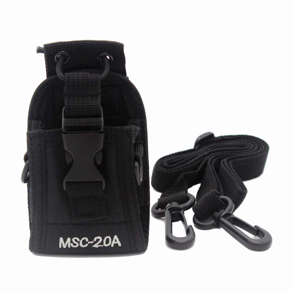 MSC-20A Two way radio Case Holster for Icom Motorola CB Radio BAOFENG UV-5R UV-5S UV-5REPlus UV-82 BF-F8+ Walkie Talkie XQF
