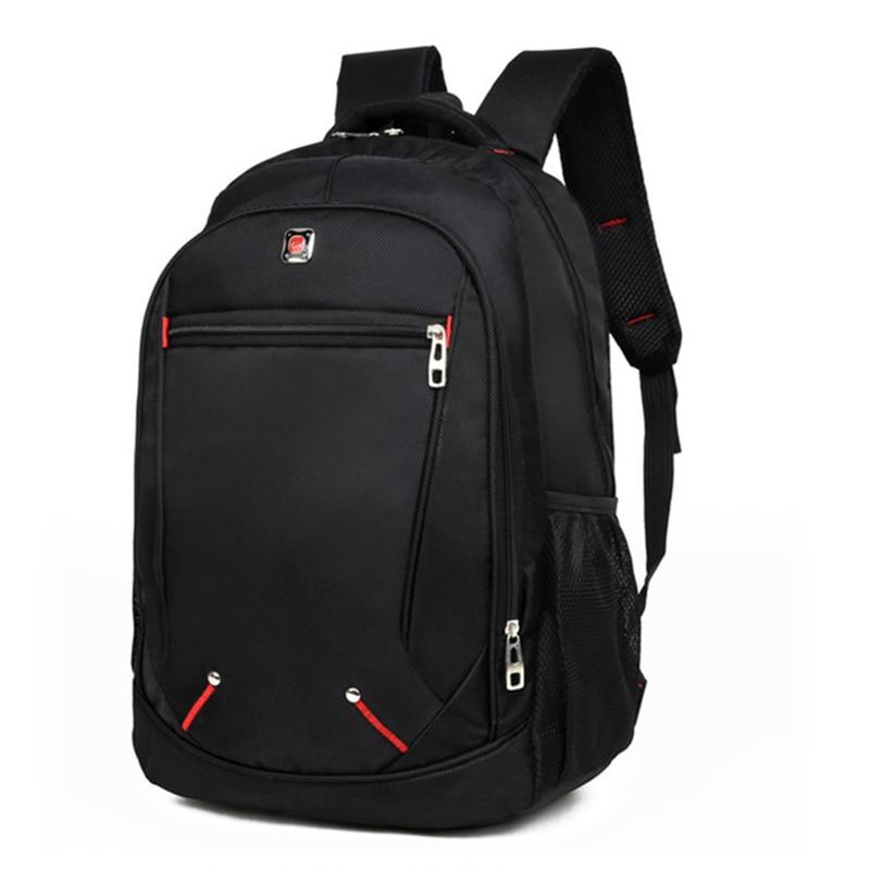 LJL Casual Einfarbig Material Oxford Mann der Rucksack Multi-funktions Große kapazität Schüler Schul Einfache Tasche