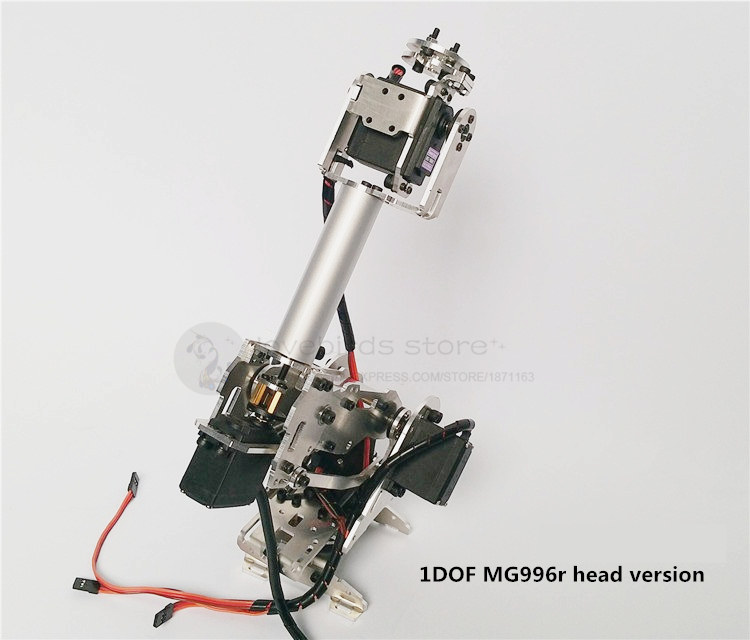 The newest version 5DOF / 6DOF CNC aluminum robotic arm frame ABB industrial robot model MG996r servos unassembled 4 dof cnc aluminum robotic arm frame palletizing robot model 4 asix robot arm 4 servos