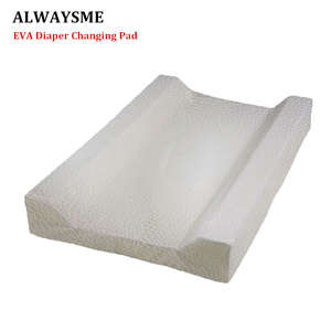 ALWAYSME Nappy Changing-Pad Diaper Infant Eva-Material Disassembly Easier Contoured Clean