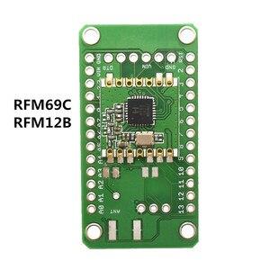 Image 5 - Drahtlose LoRa modul entwicklung bord 3,3 V verwenden können für RFM69C RFM69CW RFM12B RFM69HC RFM69HCW RFM95 RFM96 RFM98 RFM22B RFM23B