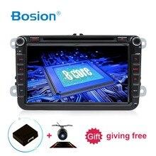 DVD לרכב GPS 2 דין אנדרואיד 8.1 אוקטה 8 Core עבור פולקסווגן סקודה/מושב/פאסאט/b7/ פולו/GOLF5 6/Caddy WIFI BT 3G/4G נטו RDS רכב רדיו
