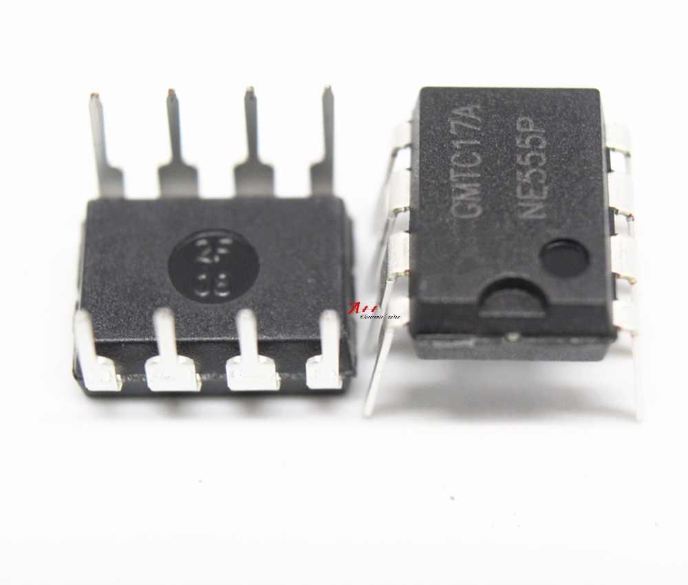 10 PCS NE555P NE555 DIP-8 nuovo e originale singolo timer ad alta precisione