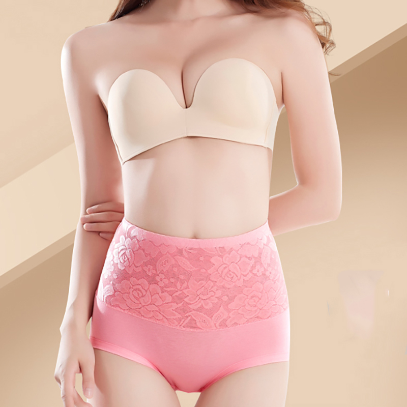 SEEDRULIA High Waist Body Shaper Briefs Panties Women's Sexy Underwear Slimming Pants Tummy Control Underpants