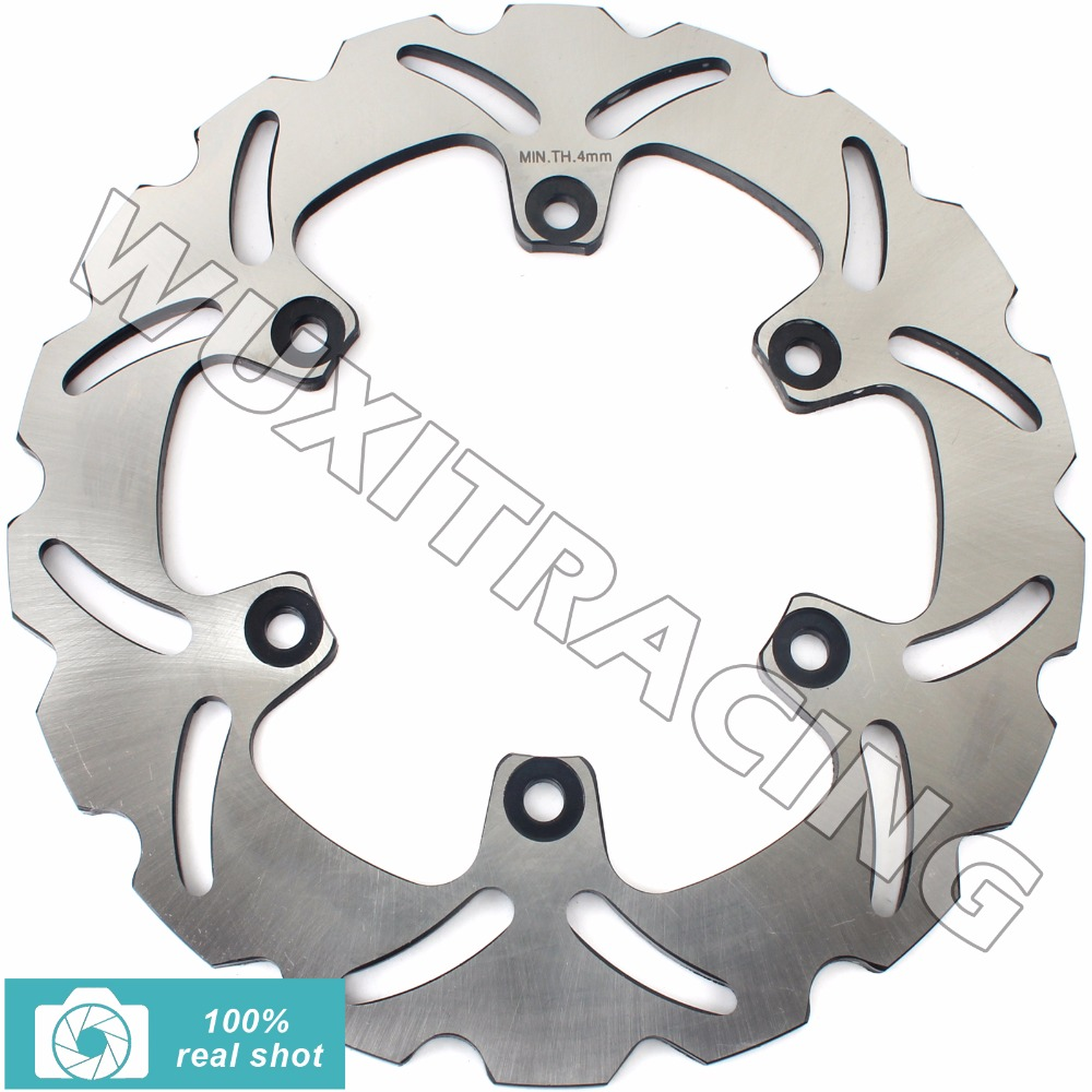 New Rear Brake Disc Rotor for YZF 600 750 1000 R R1 SP TDM 850 900 91-14 TRX 850 95-00 XT 660 R X supermoto 04-16 XTZ 660 08-16 rear brake disc rotor for ducati monster 400 600 620 double disk 695 696 abs 750 800 888 sp 900 1000 s4 sport 620 750 800 1000 s