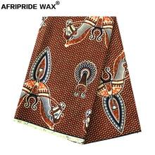 2019 new africa print whole sale batik cotton fabric AFRIPRIDE 100% high quality ankara for dress curtain A18F0405