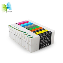 WINNERJET T6531-T6539 T653A T653B Compatible Ink Cartridge With Bulk Pigment Ink For Epson 4900 4910 Printer vilaxh t6531 t6539 t653a t653b refillable ink cartridge for epson stylus pro 4900 printer with arc chip