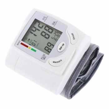 Home Health Care Digital Wrist Blood Pressure Pulse Monitor Sphygmomanometer Automatic Heart Beat Meter Machine 1