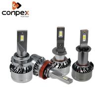conpex 12V car styling canbus Auto Headlamp Light Bulb Automobiles LED for Fiat Tipo 500 500c Punto stilo bravo siena ducato