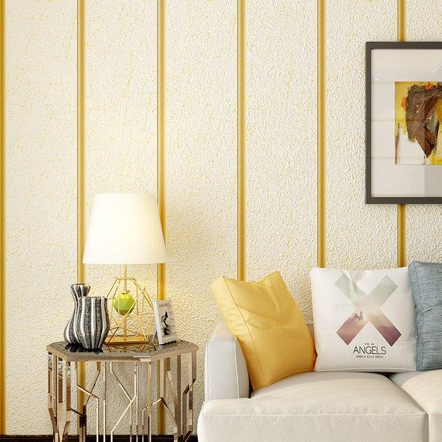 Online Shop Modern Simple Marble Stripe Wallpaper Roll Suede Non ...