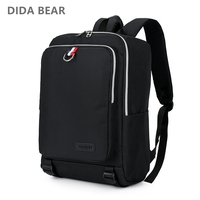 DIDA BEAR 2018 New Men Backpacks Women Canvas Backpack Large School Bags For Travel Teenagers Unisex