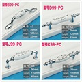 Hole C:C: 76mm/96mm Zinc alloy ceramic handle furniture cabinet handle drawer pulls Silver color print flower