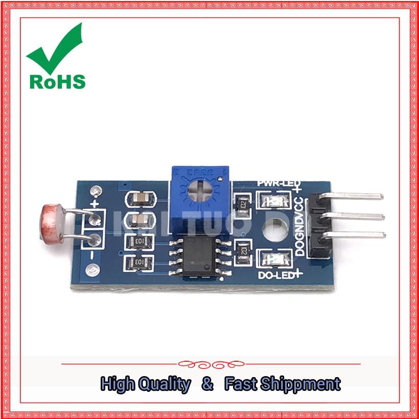 Photosensitive sensor module light detection photoresistor module photosensitive module board