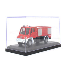 SIKU 1:64 Benz Diecast Car model kids toys Fire truck Collection decoration Acrylic box packaging toy car Gift for children(China)