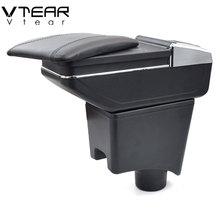 Vtear для DACIA sandero подлокотник коробка центральный магазин содержание коробка держатель стакана, пепельница интерьер автомобиля-Стайлинг украшения Аксессуары
