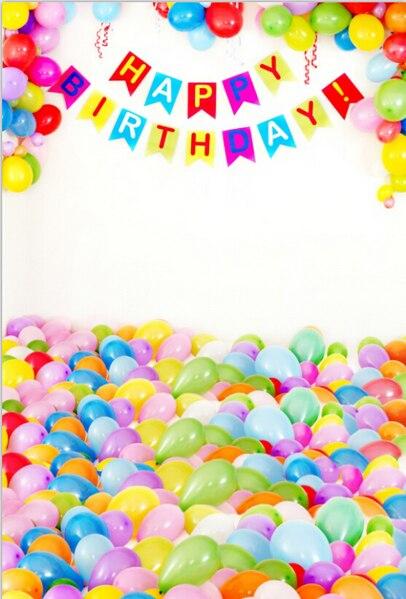 5x10FT Colorful Balloons Floor Room Happy Birthday Party Children