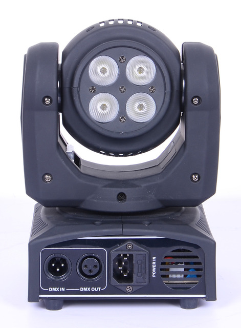 Double Side 4 *8w Led Wash Moving Head Light / Each Face 4*8W